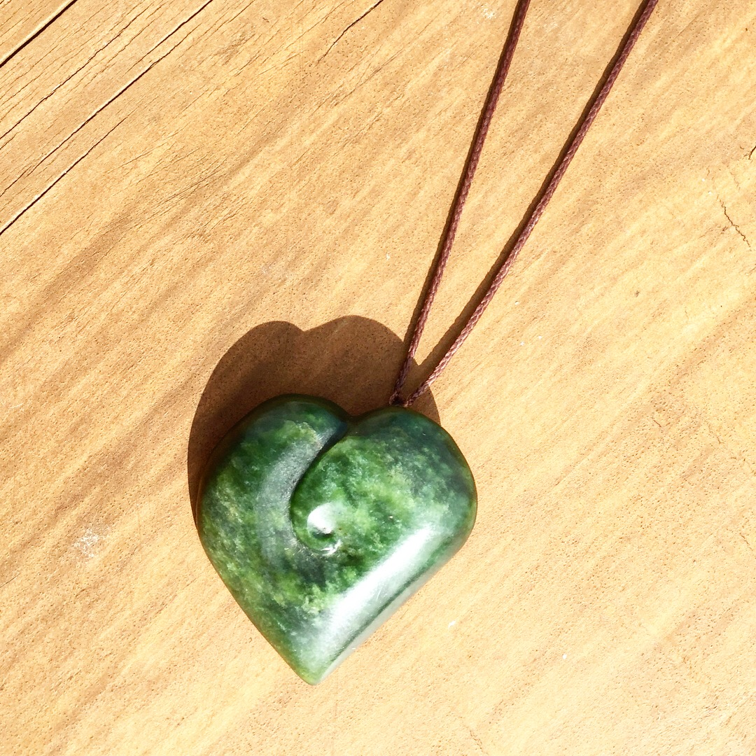products stone shop iona green greenstone craft necklace pendant